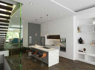 Bogert,Studio Quadrant,Interior design, open concept kitchen, modern stylish kitchen