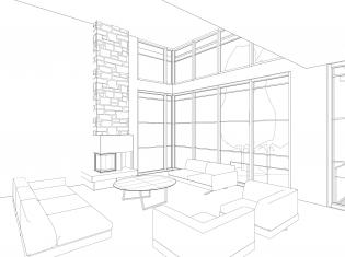 Oakville, Interior, Studio Quadrant,