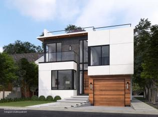 Bluffers Modern House