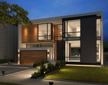 Custom Modern House Bayview Village, Studio Quadrant